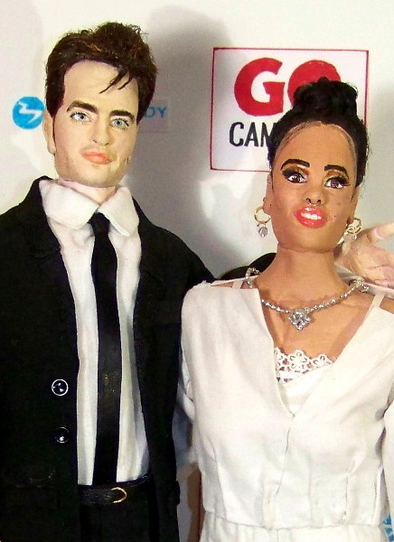 robert pattinson doll fka twigs doll handmade dolls made in USA