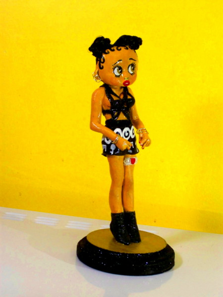 Betty Boop FKA Twigs celebrity figurine
