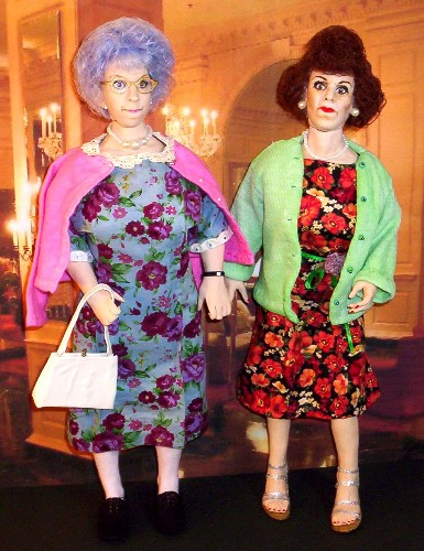 Carol Burnett doll Vicki Lawrence doll