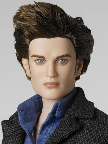 Robert Pattinson doll before repaint