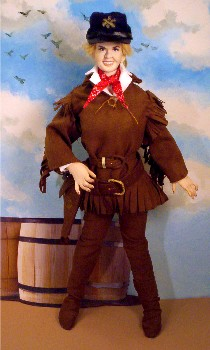 Calamity Jane Doris Day doll made in the USA