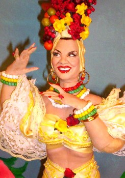 Carmen Miranda doll made in the USA