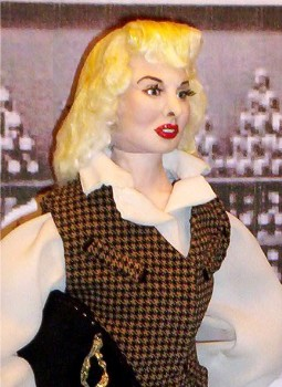 Barbara Stanwyck doll made in the USA