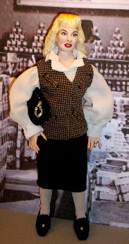 Barbara Stanwyck doll made in America