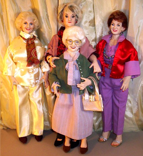 Golden Girls dolls hand made in the USA
