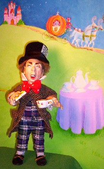 Mad Hatter doll made in America by Alesia