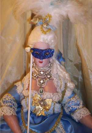 Marie Antoinette doll by Alesia