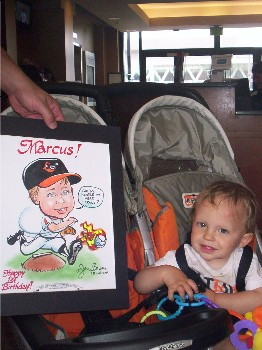 Baltimore caricature artist Maryland caricatures party cartoons birthday caricatures