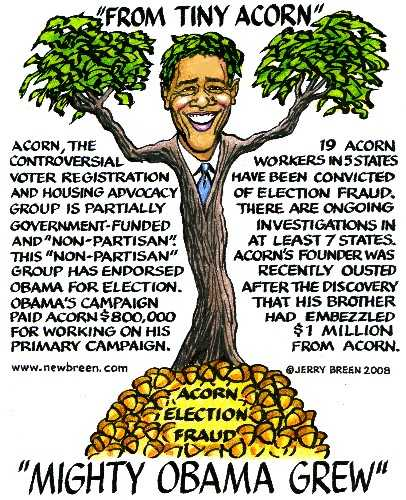 Barack Obama ACORN election fraud