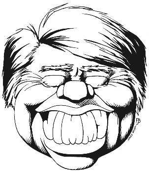 Jimmy Carter cartoon Carter caricature