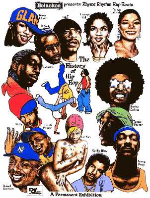 Hip Hop singers by Jerry Breen