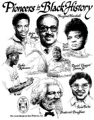 Pioneers in Black History by Jerry Breen