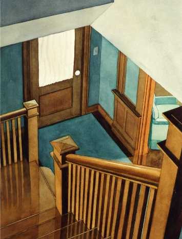The Hall Stairs by Jerry Breen