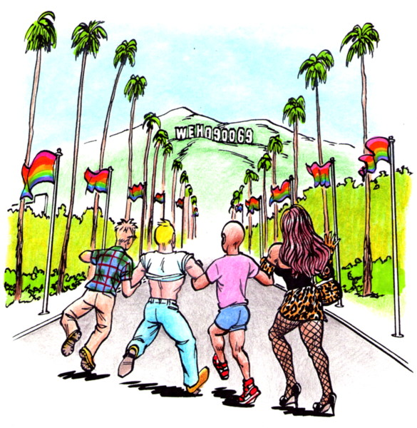 Sissy Sammy book Dale Guy Madison gay rights gay liberation stop the bullying it gets better