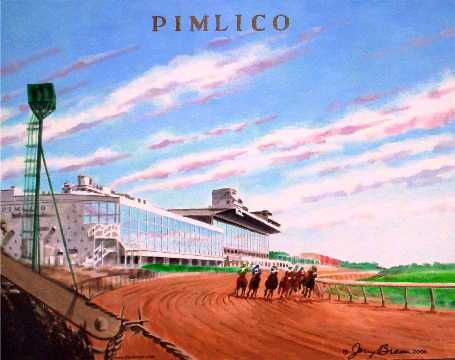 Pimlico painting by Jerry Breen
